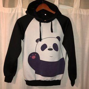 Tops - We Bare Bears Panda Sweatshirt